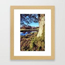 Countryside views Framed Art Print