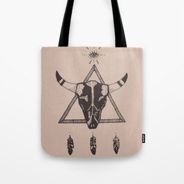 DEAD FEATHER Tote Bag