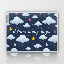 I love Rainy Days Laptop & iPad Skin