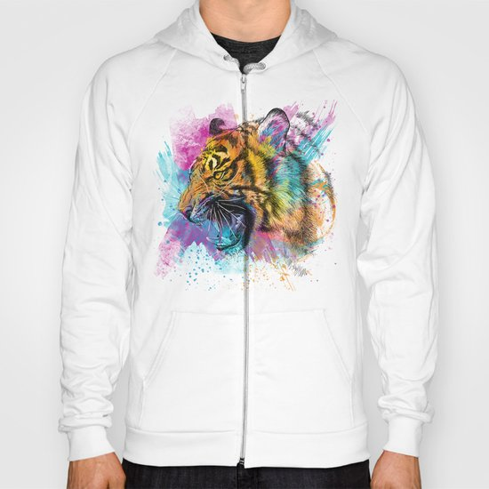 Angry Tiger Hoody