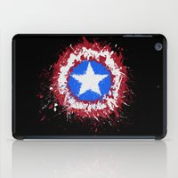 shield iPad Cases featuring The Shield by DanielBergerDesign