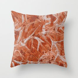 Abstract Fly ( Texture ) Throw Pillow