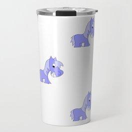 HERBIE HORSE - BLUE Travel Mug