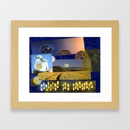 Crossing the Threshold No. 1 Framed Art Print