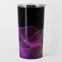 Many colored lines Travel Mug