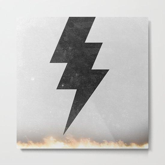 lightning strike -2 Metal Print