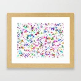 Expression of color Framed Art Print
