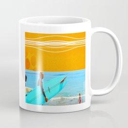 three surfers Coffee Mug