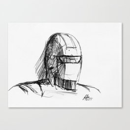 Warbot Sketch #006 Canvas Print