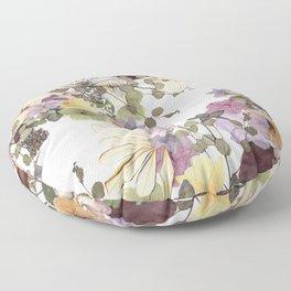 Floral Ella Floor Pillow