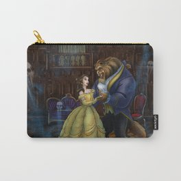 Haunted Beauty and the Beast by Topher Adam 2017 Carry-All Pouch