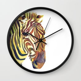 The Zebra Wall Clock