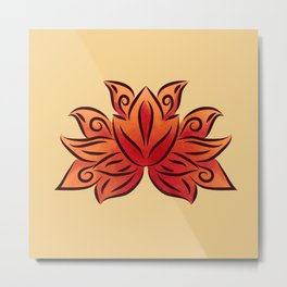 Bright loto Metal Print