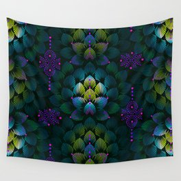 Variations on A Feather IV - Stars Aligned (Primeval Edition) Wall Tapestry