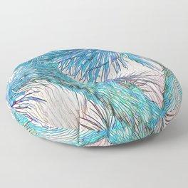 Joshua Tree VGBlue by CREYES Floor Pillow