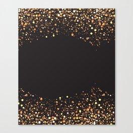 Black and gold #society6 Canvas Print