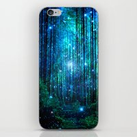 marianna iPhone & iPod Skins featuring magical path by haroulita