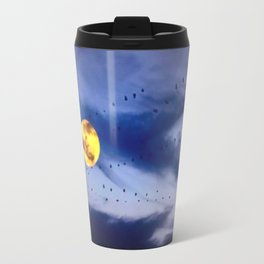 On a left along the moon and further to the east. Travel Mug