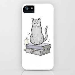 Witches Cat iPhone Case