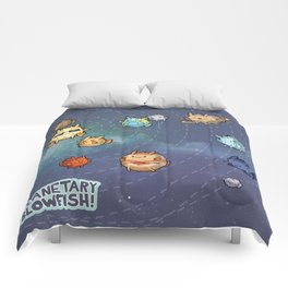 Planetary Blowfish Comforters