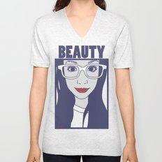 Beauty series Myah Unisex V-Neck