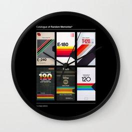 Random Memories Wall Clock