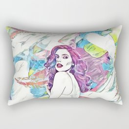 Ashley Greene - Celebrity Art (Illustration) Rectangular Pillow