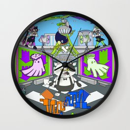 Splatoon Wall Clock