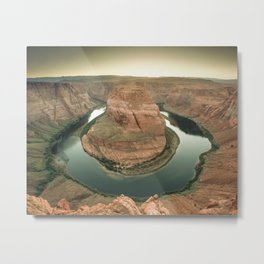 canyon country flow horseshoe bend arizona Metal Print