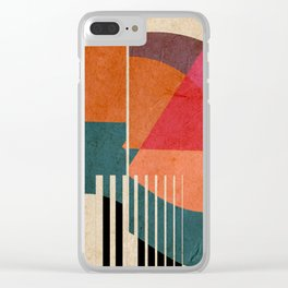 in the autumn Clear iPhone Case
