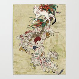 Okami Celestial Parade Poster