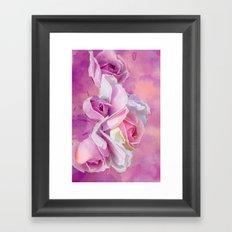 Romantic rose(12) Framed Art Print