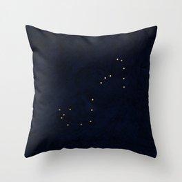 stars in scorpio Throw Pillow