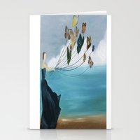 baloon Stationery Cards featuring Butterfly Baloon by ArtSchool