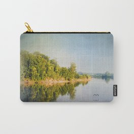 Tennessee River Reflections - Water Landscape Carry-All Pouch