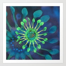 Passion Flower Watercolor Art Print