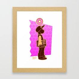 A Lil Dilla Framed Art Print