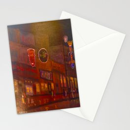 Evening on Beale Street Stationery Cards