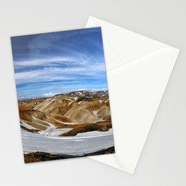 Landmannalaugar, Iceland Stationery Cards