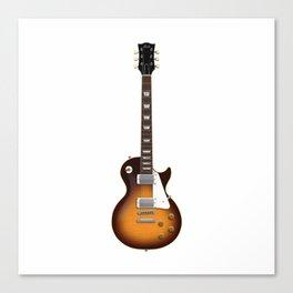 Sunburst Electric Guitar Canvas Print