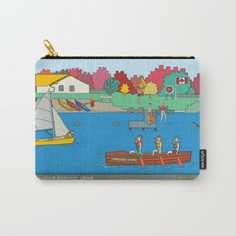 Canoeing Summer Camp Carry-All Pouch