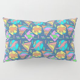 Nineties Dinosaur Pattern Pillow Sham