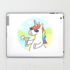 Unicorn Chill Laptop & iPad Skin