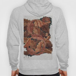 Very old wooden trees, fine art, Acanthus (1879-1881) by William Morris. Hoody
