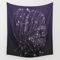 constellation Wall Tapestries featuring Constellation by Zak Rutledge
