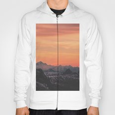 Pastel Sunset #mountains #society6 Hoody