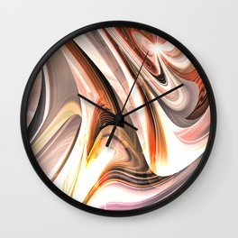 """Disordered, Order"" Wall Clock"