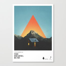 The dharma bums Canvas Print