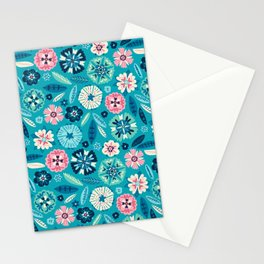 Flower Pop Stationery Cards