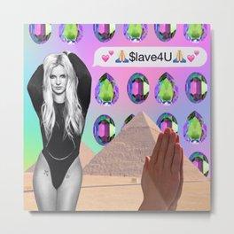 $lave4U Metal Print